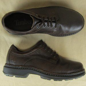Timberland US 9W Men Oxford Casual Pebbled Leather